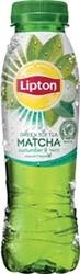 Lipton Matcha green tea komkommer en munt, 33 cl , pak van 12 stuks