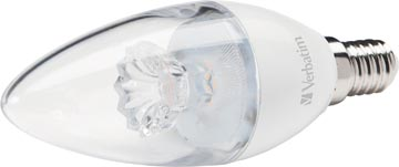 Verbatim LED kaarslamp, fitting E14, 3,1 W, 2700 K