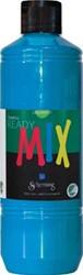 Schjerning plakkaatverf Ready Mix 500ml Primairblauw