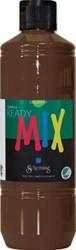 Schjerning plakkaatverf Ready Mix 500ml Bruin