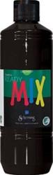 Schjerning plakkaatverf Ready Mix 500ml Zwart
