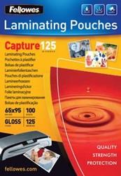 Lamineerhoes 65 x 95 mm 125 micron pak van 100 Fellows