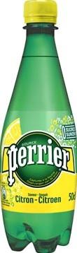 Perrier aromatiserend bruiswater smaak citroen fles van 50 cl pak van 24 stuks