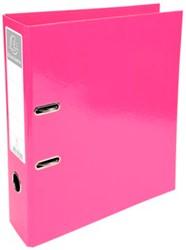 A4 ordner Exacompta Iderama rug van 7 cm roze