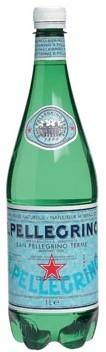 Water San Pellegrino fles van 1 l, pak van 6 flesjes
