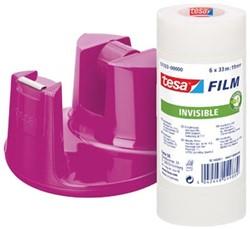 Tesa plakbandhouder Compact roze