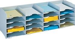 Paperflow sorteerbakje met laden met 20 laden, breedte 101 cm