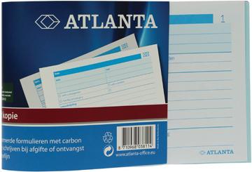 Jalema bonboekjes genummerd 1-50, 50 blad in drievoud, met carbon