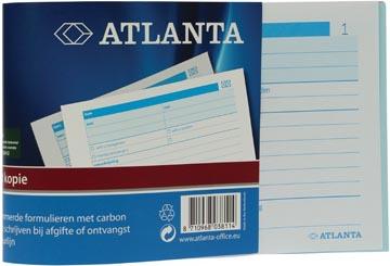 Jalema bonboekjes genummerd 1-100, 100 blad in tweevoud, met carbon