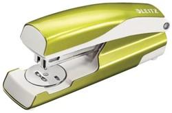 Groene nietmachine Leitz Nexxt 5562 WoW 30 vel
