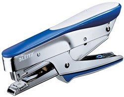 Leitz niettang, bovenlaadmodel blauw metallic 5548