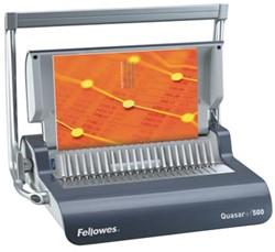 Fellowes Inbindmachine Quasar +500 voor plastic inbindringen