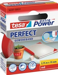 Textieltape ft 19 mm x 2,75 m, rood