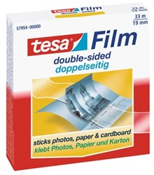 Tesa dubbelzijdige plakband in doos, ft 33 m x 19 mm