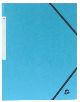 5Star Elastomap met kleppen donkerblauw