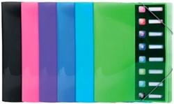 Exacompta Iderama sorteermap, uit PP, met 8 vakken, geassorteerde kleuren