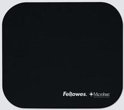 Fellowes Muismat Microban® zwart
