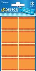 Avery diepvriesetiketten in blister, oranje, 40 etiketten
