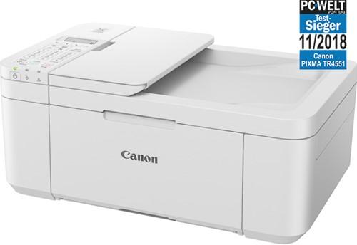 CANON PIXMA TR4551 4IN1 INKJET PRINTER 2984C029 A4/color white