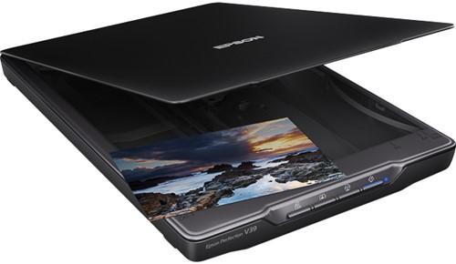 EPSON PERFECTION V39 FLAT BED SCANNER B11B232401 A4/CIS/USB 2.0 black