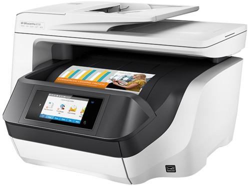 HP OJ PRO 8730 4IN1 INKJET PRINTER D9L20A#A80 A4/WLAN/multi/color
