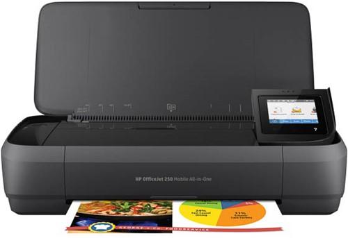 HP OJ 250 3IN1 INKJET PRINTER CZ992A#BHC A4/multi/color/mobile