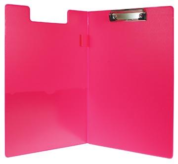 5Star Klemmap A4/Folio dubbel model                      neonroze