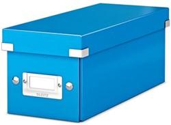 Leitz Opbergdoos CD Wow Click & Store blauw