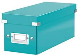 Leitz Opbergdoos CD Wow Click & Store ijsblauw