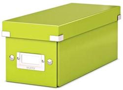 Leitz Opbergdoos CD Wow Click & Store groen