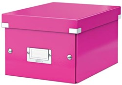 Leitz Opbergdoos Wow Click & Store ft A5, roze