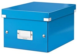 Leitz Opbergdoos Wow Click & Store ft A5, blauw