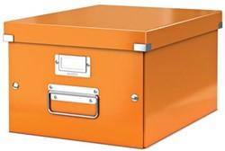 Leitz Opbergdoos Wow Click & Store ft A4, oranje
