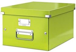 Leitz Opbergdoos Wow Click & Store ft A4, groen