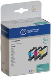 Prime printing inktcartridge 3 kleuren, 400 pagina's voor Brother - OEM: LC1000RBWBP