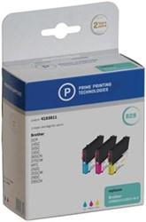 Prime printing inktcartridge 3 kleuren, 260 - 300 pagina's voor Brother