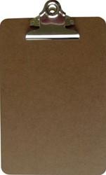 5 Star Klemplaat in hout, ft A5, met krachtige klem van 7,5 cm