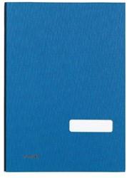 Class'ex handtekenmap blauw, zonder metalen beschermrand