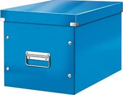 Leitz Click & Store kubus grote opbergdoos, donkerblauw