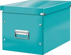 Leitz Click & Store kubus grote opbergdoos, ijsblauw