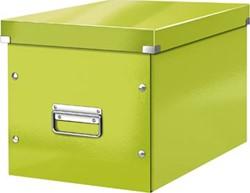 Leitz Click & Store kubus grote opbergdoos, groen