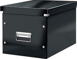 Leitz Click & Store kubus grote opbergdoos, zwart