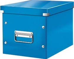 Leitz Click & Store kubus middelgrote opbergdoos, donkerblauw