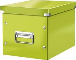 Leitz Click & Store kubus middelgrote opbergdoos, groen