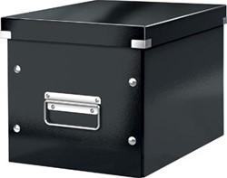 Leitz Click & Store kubus middelgrote opbergdoos, zwart