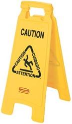 Rubbermaid waarschuwingsbord