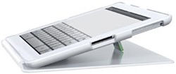 Leitz iPad hoes met steun wit
