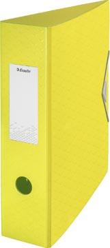Esselte ordner Colour'Ice A4, uit polyfoam, rug van 7,5 cm, geel
