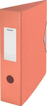 Esselte ordner Colour'Ice A4, uit polyfoam, rug van 7,5 cm, abrikoos