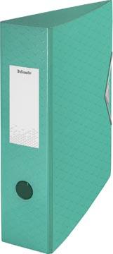 Esselte ordner Colour'Ice A4, uit polyfoam, rug van 7,5 cm, groen